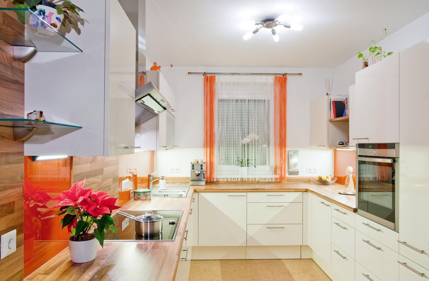 Zeitgenossische U Formige Kuche Design - Wohndesign -
